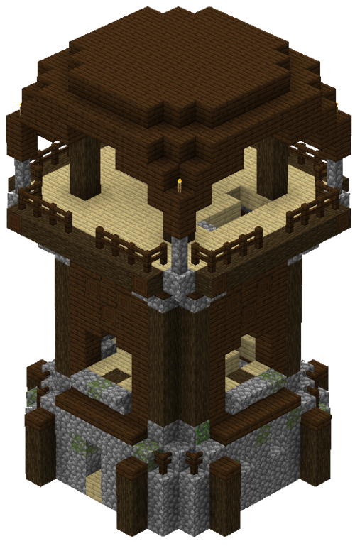 minecraft 1.14 avant poste pillard