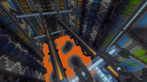 terminal velocity map minecraft lave