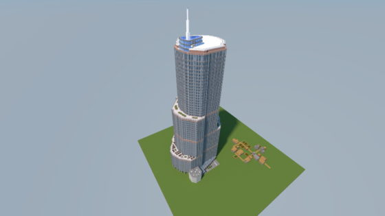 TRUMP INTERNATIONAL HOTEL & TOWER CHICAGO map minecraft