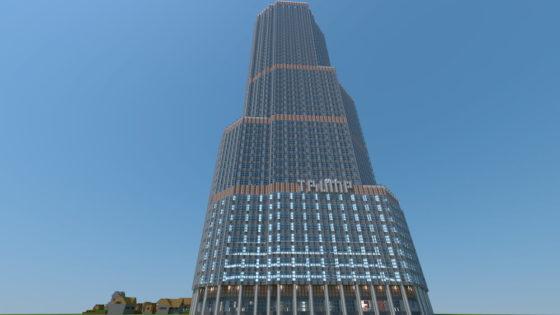 carte minecraft TRUMP INTERNATIONAL HOTEL & TOWER CHICAGO