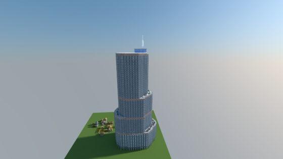 TRUMP INTERNATIONAL HOTEL & TOWER CHICAGO minecraft