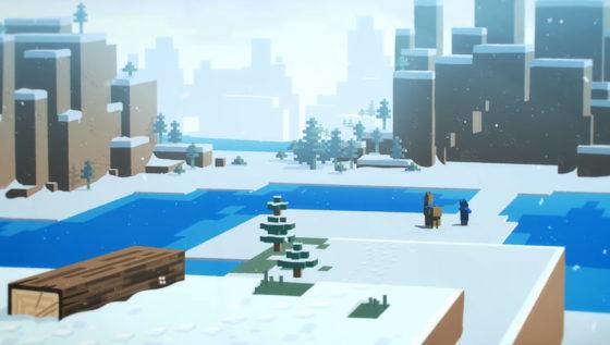 marchand ambulant minecraft 1.14 neige