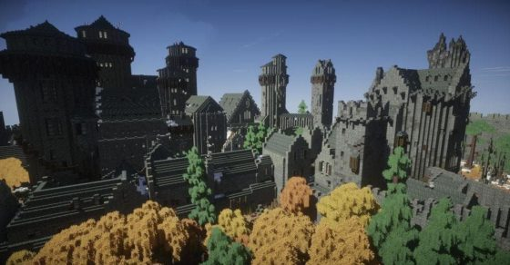 winterfell chateau game of thrones minecraft été