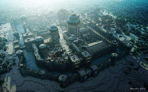 winterfell chateau game of thrones minecraft