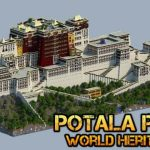 [Map] Palais du Potala – Ancienne résidence du Dalaï-lama