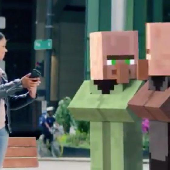 minecraft réalité virtuelle
