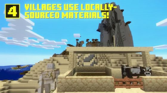 ressources locales village minecraft 1.14