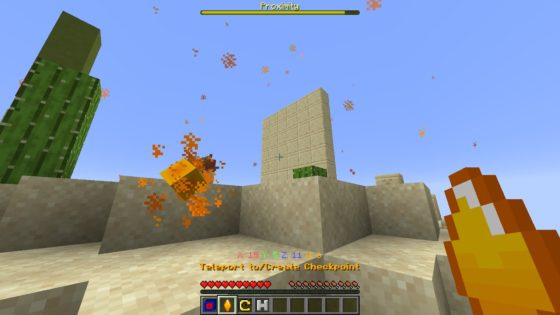 map minecraft the hypercube desert