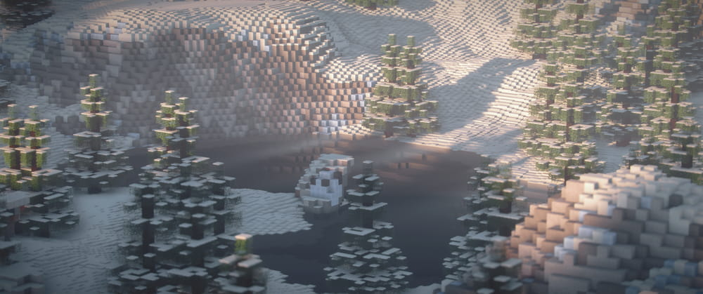 Continuum Shaderspack Minecraft : Colline