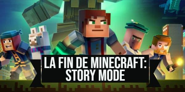 Minecraft : Story Mode ne sera plus téléchargeable à partir du 25 juin
