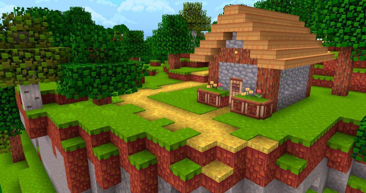 Hafen : une maison dans un village