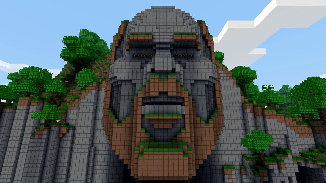 "Map Minecraft Aventure : la célèbre map ""Temple of Notch"" de Disco"