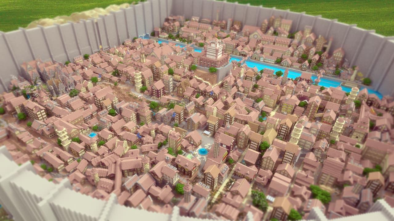Map Minecraft Construction : map inspirée de l'attaque des titans