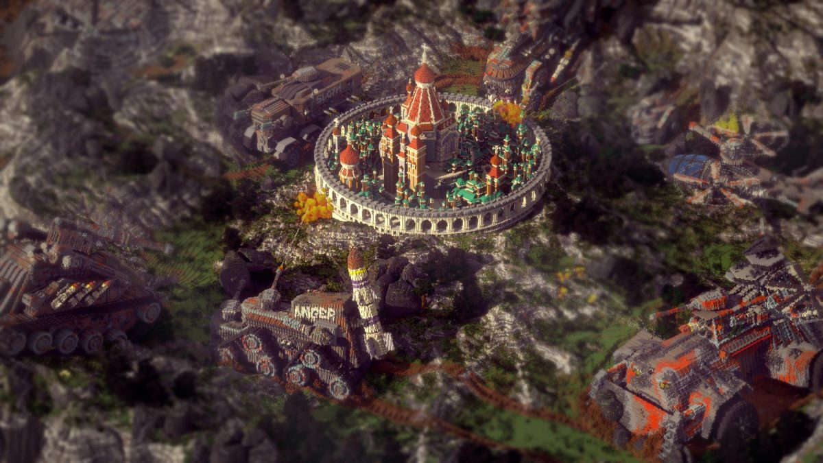 Defenseless Map Minecraft Attaque Citadelle