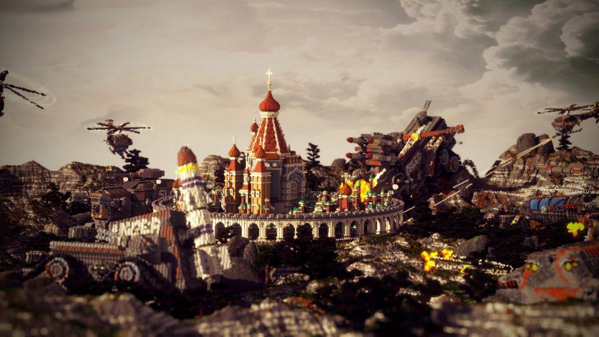 Defenseless Map Minecraft Citadelle