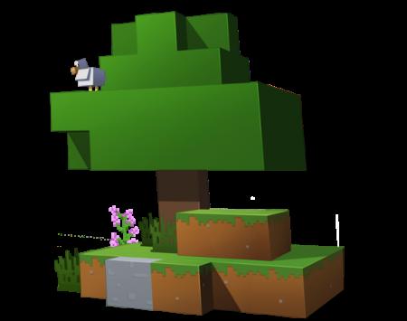 arbre minecraft