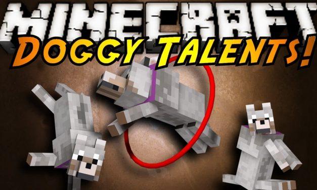[Mod] Doggy Talents [1.7.10 – 1.14.2]