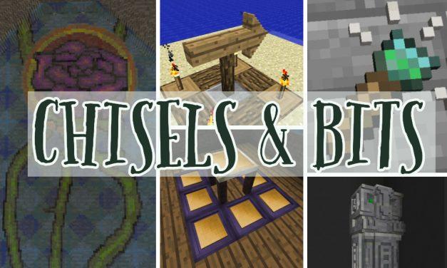 [Mod] Chisels & Bits [1.8.9 – 1.12.2]