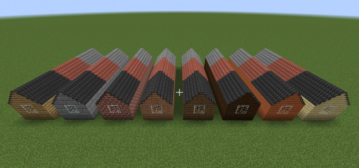 not enough roofs mod minecraft toits