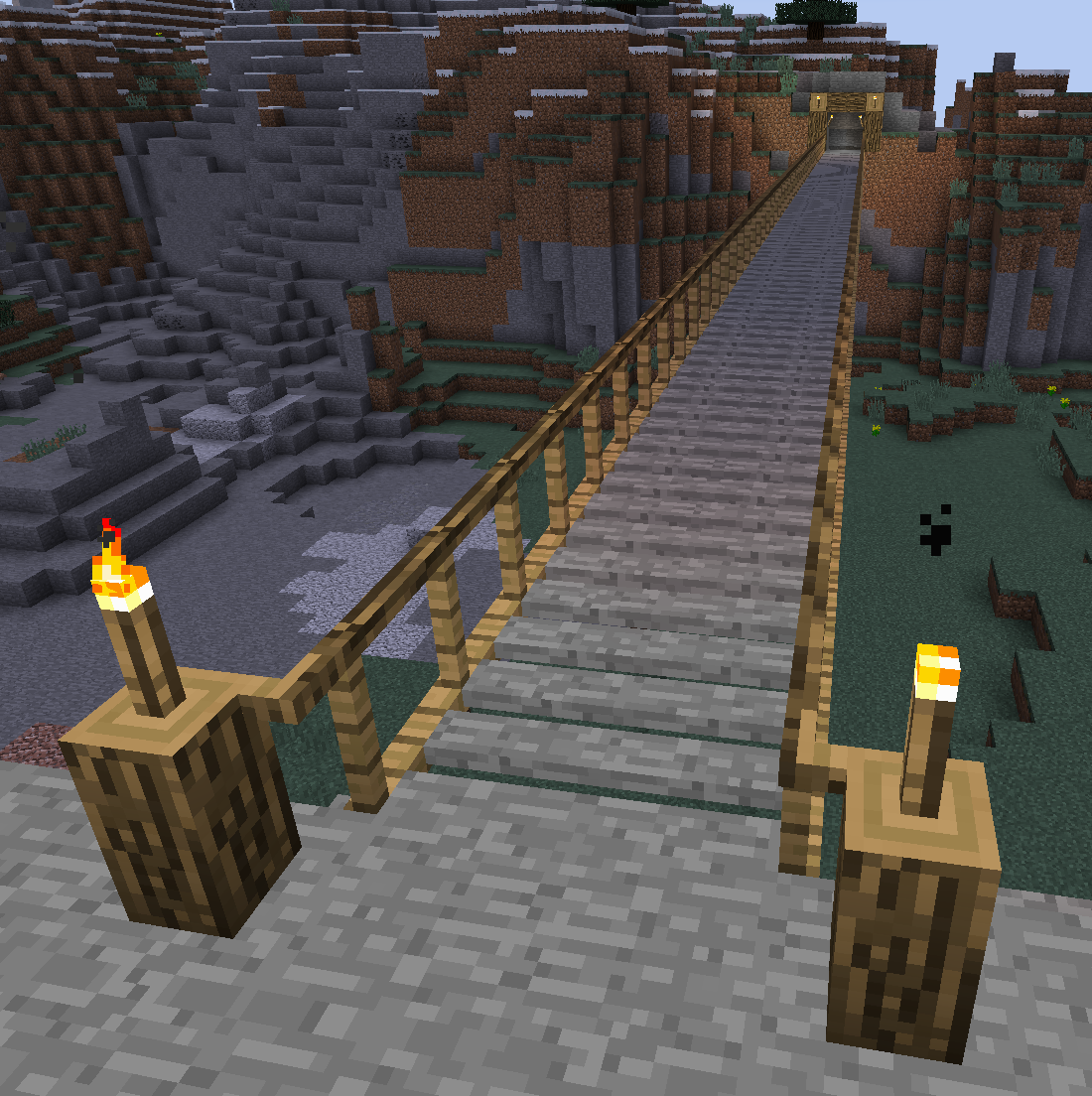 pont en bois mod minecraft chisels bits