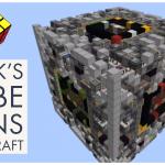 Un Rubik's Cube géant reproduit dans Minecraft