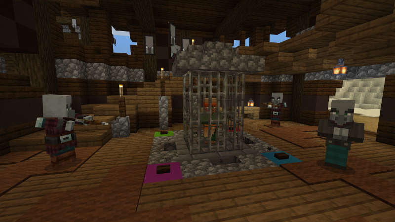 the traveling trader map minecraft bedrock fort pillard