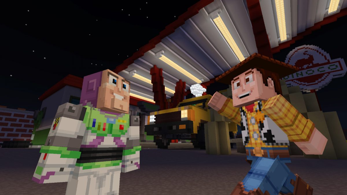 Toy Story Minecraft Buzz et Woody
