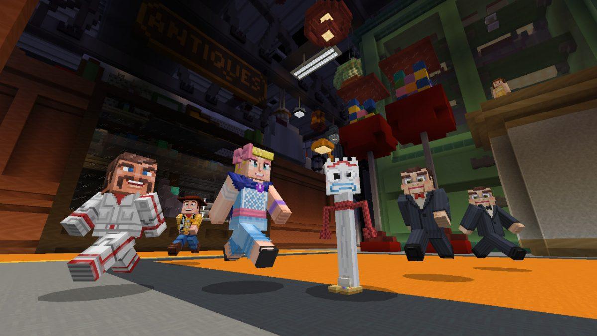 Toy Story Minecraft Fourchette