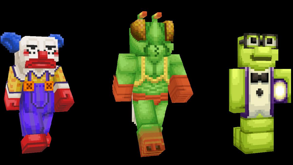 Skin Toy Story Minecraft Clown