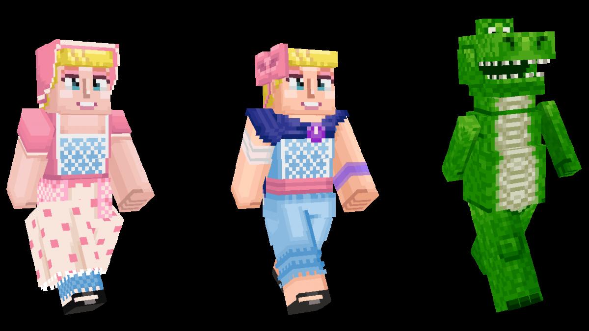 Skin Toy Story Minecraft Dino