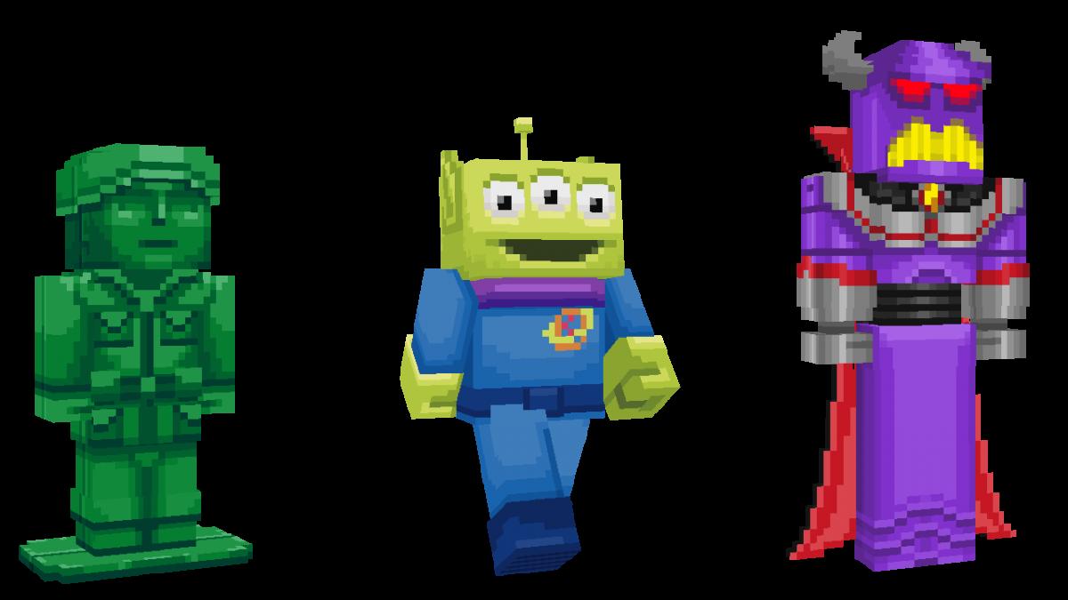 Skin Toy Story Minecraft Alien