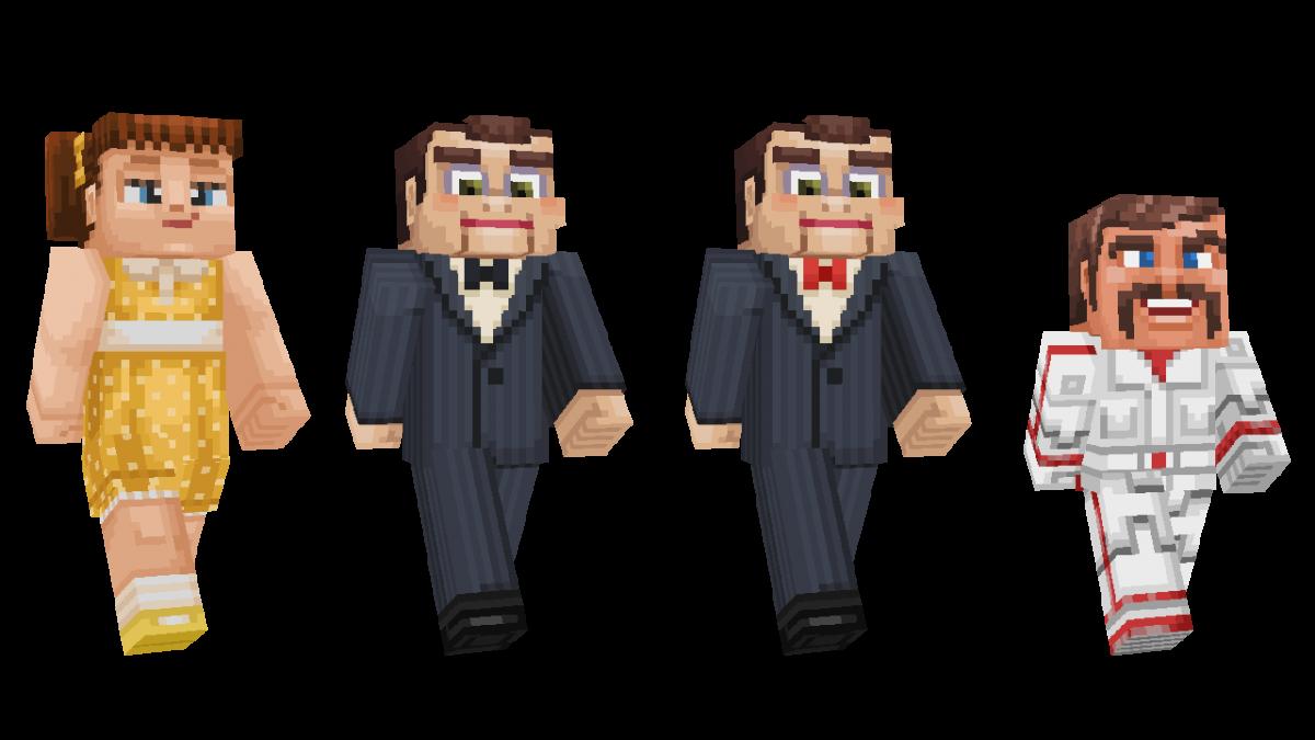 Skin Toy Story Minecraft Jumeaux