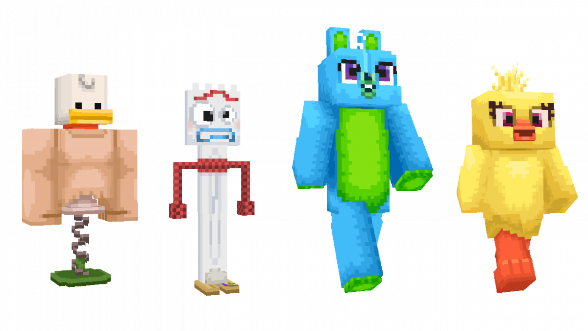 Skin Toy Story Minecraft Peluche