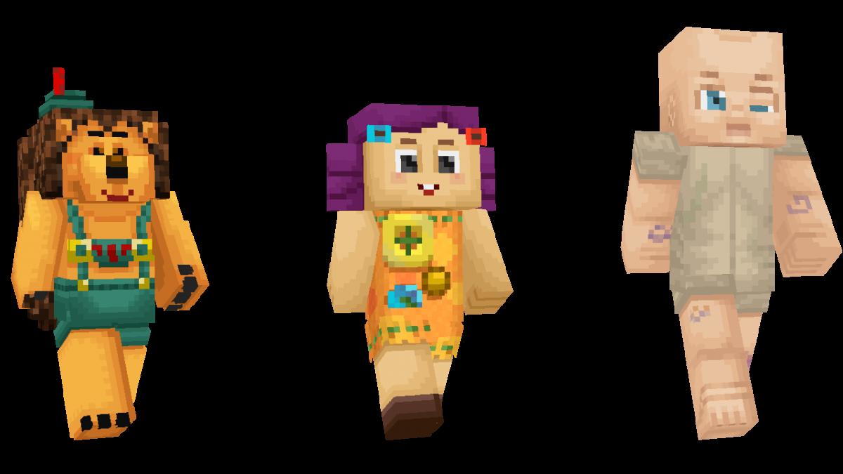 Skin Toy Story Minecraft Poupée