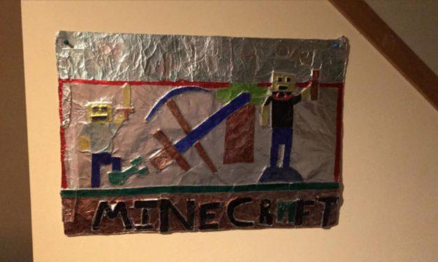L'analyse du dessin Minecraft d'un enfant