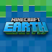 logo minecraft earth