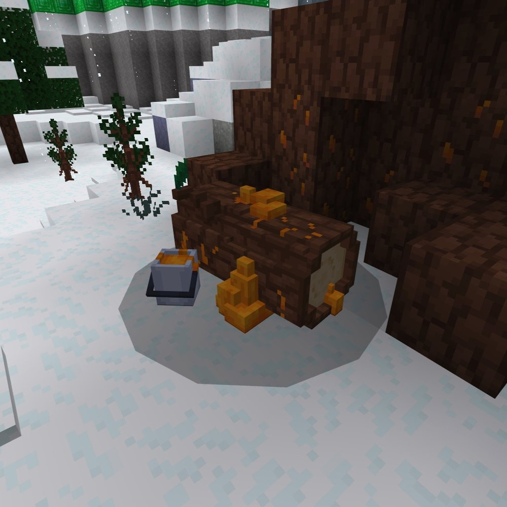 minerai bois map minecraft bedrock monster form the ice