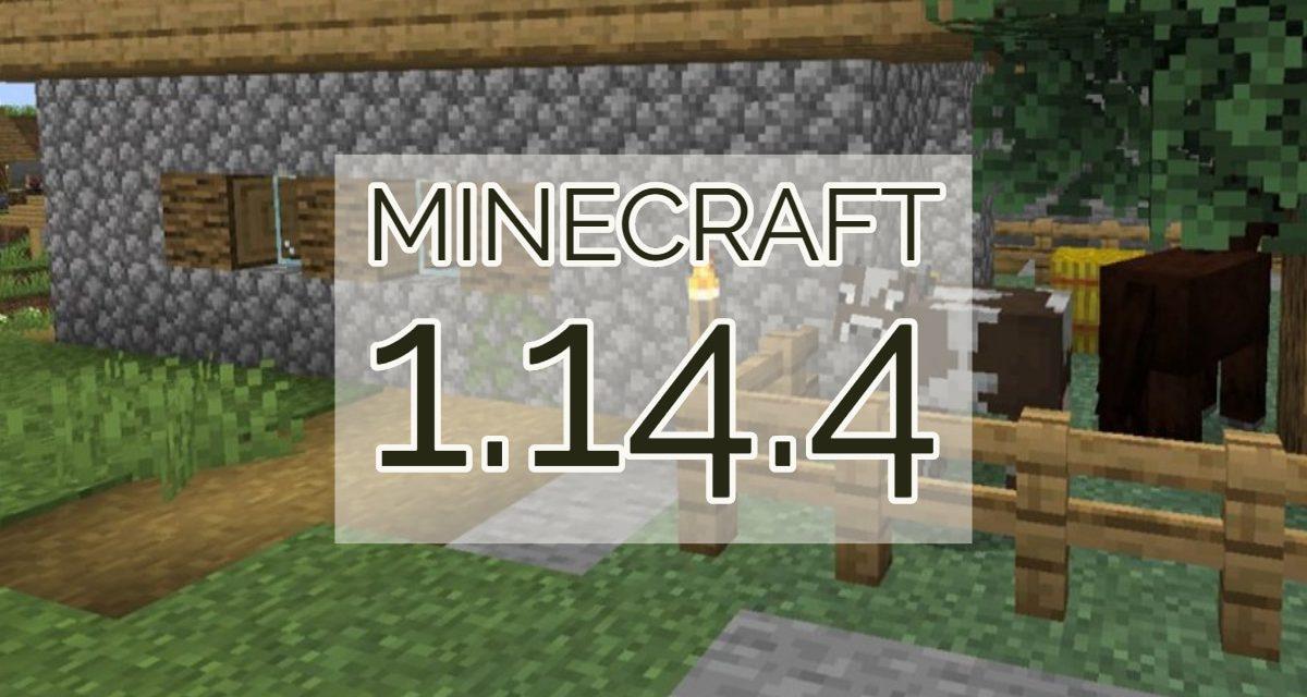 Minecraft 1.14.4 : Mise à jour disponible
