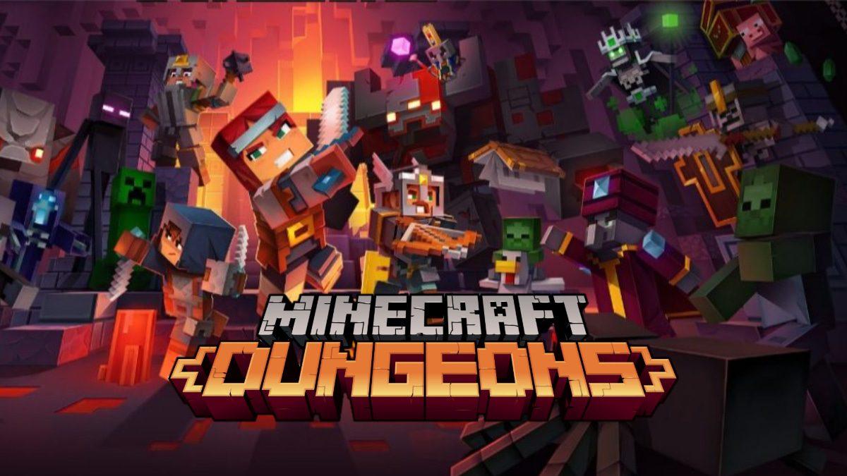 minecraft dungeons informations jeu