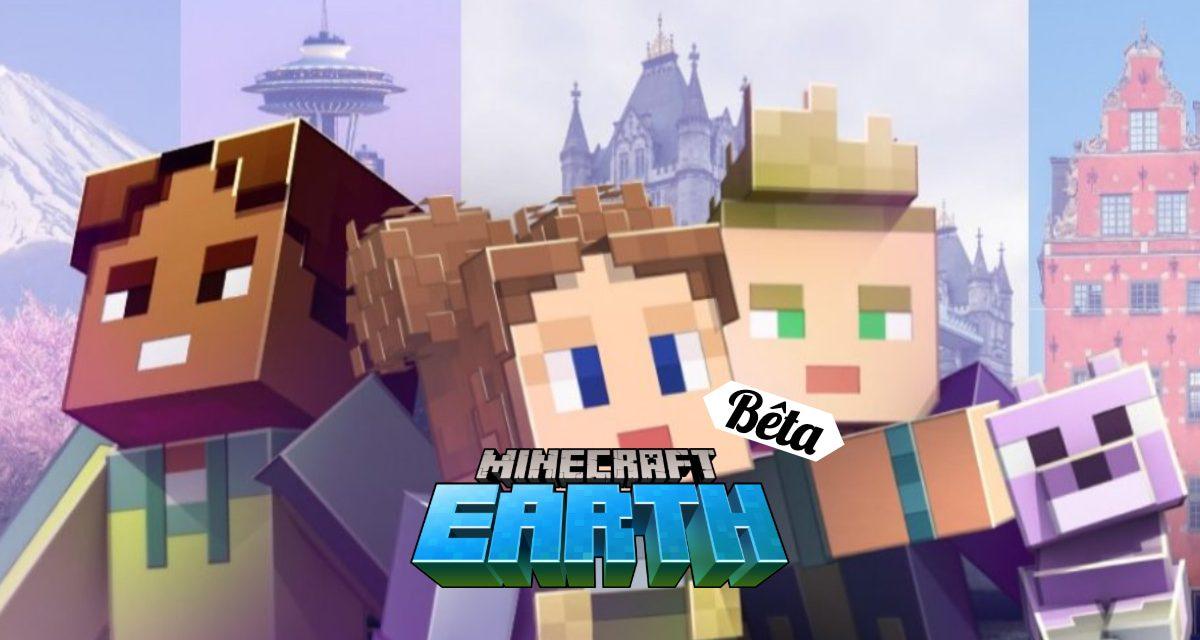Minecraft Earth : Bêta lancée à Londres, Seattle, Stockholm, Tokyo et Mexico