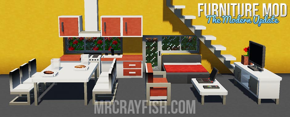 modern update MrCrayfish's Furniture Mod