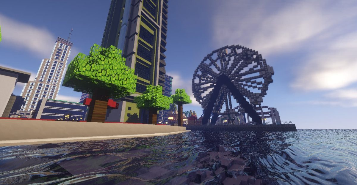 Beyond Belief Shaders : Grande roue
