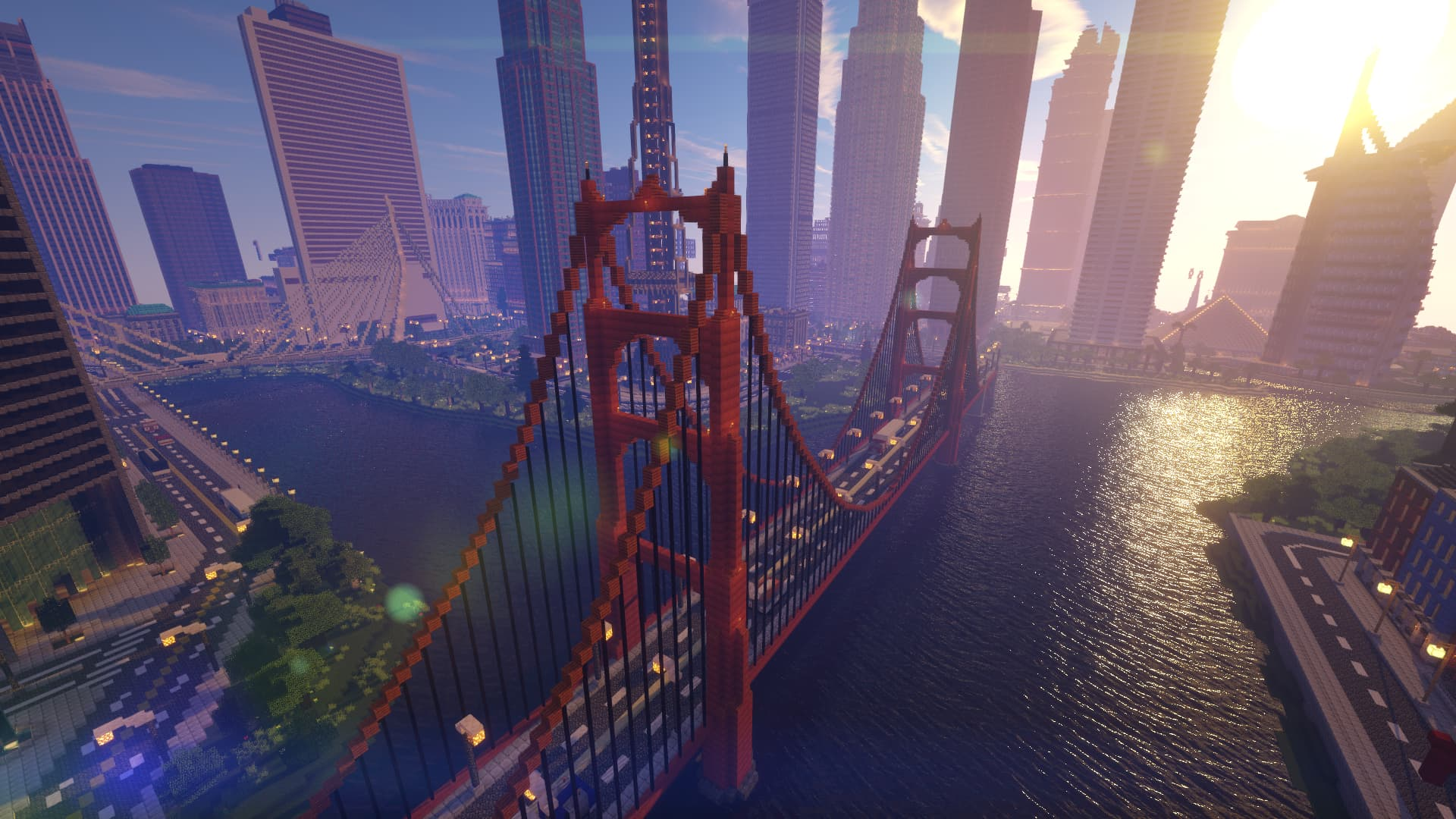 Beyond Belief Shaders : Pont de San Francisco