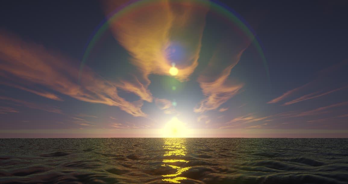 Beyond Belief Shaders : Le reflet du soleil sur la mer