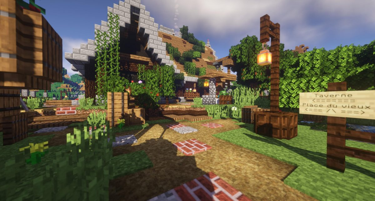 Beyond Belief Shaders : Une taverne