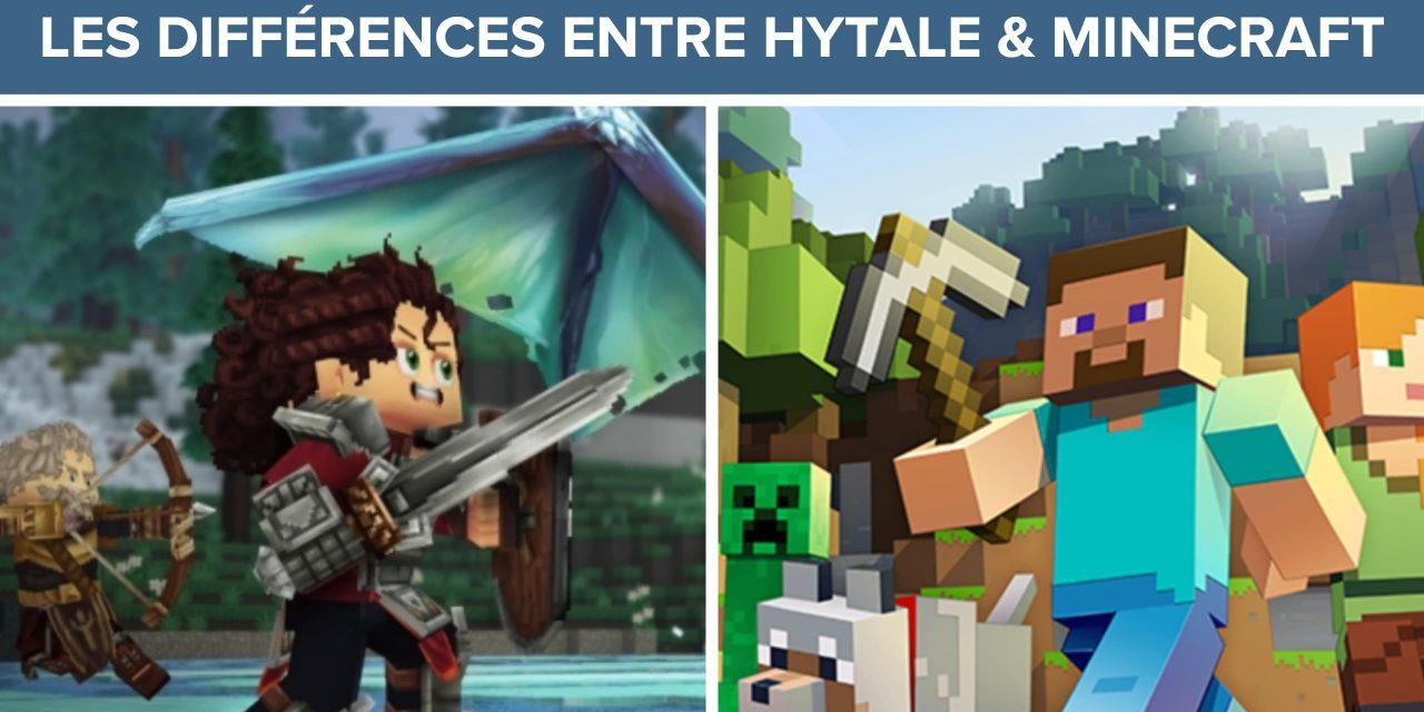 Quelles sont les différences entre Minecraft et Hytale ?