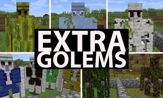 [Mod] Extra Golems – 1.7.10 → 1.14.4