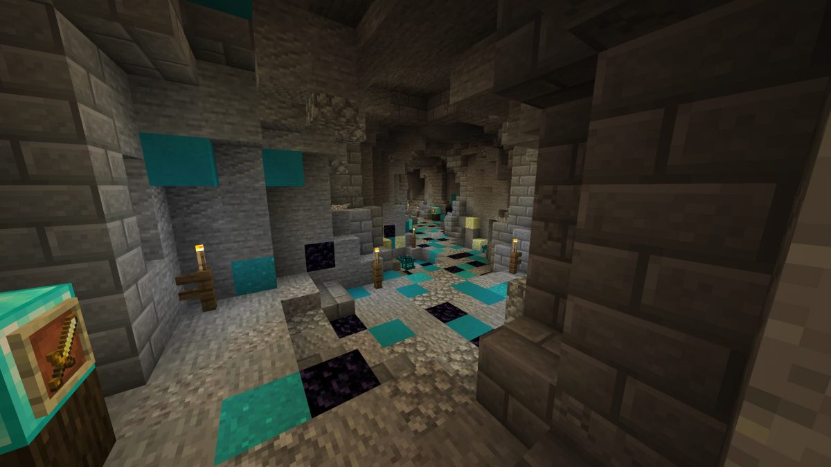 Map Minecraft Illemana Defense Ancien Tunnel