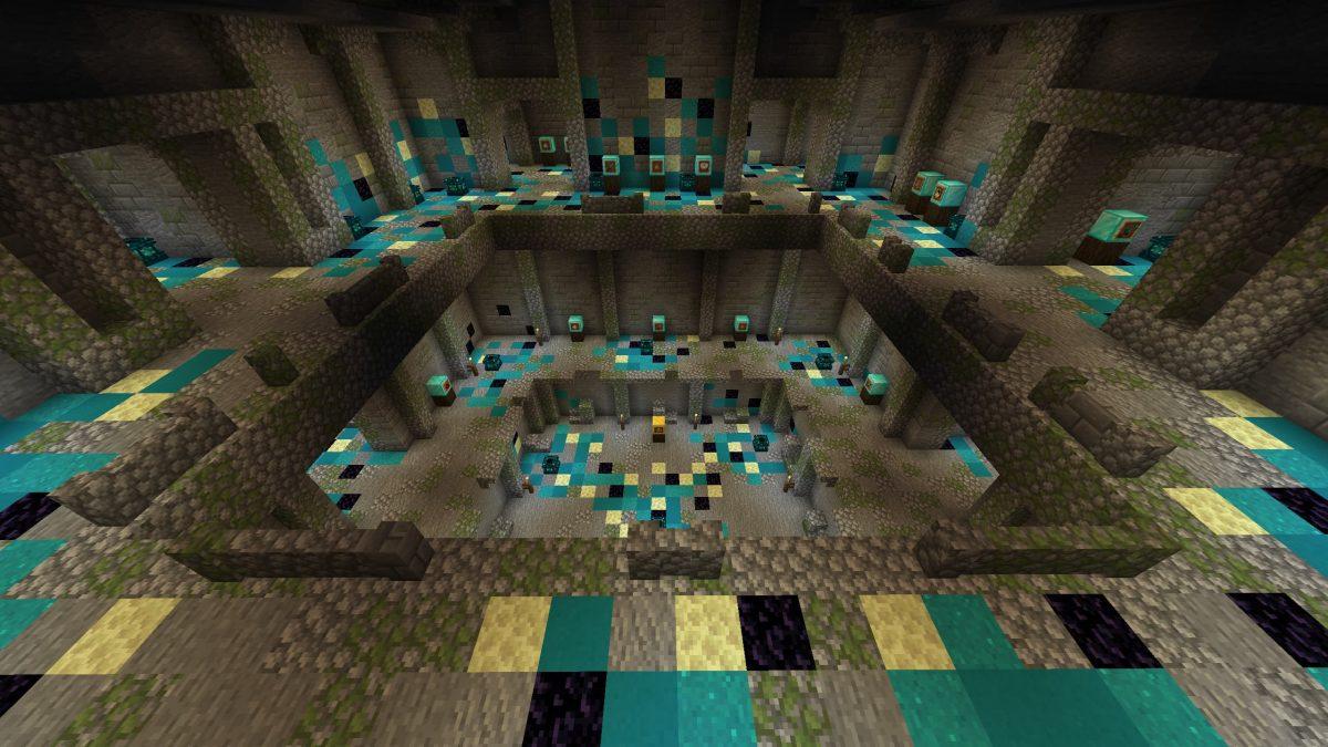 Map Minecraft Illemana Defense Deuxième étage du temple