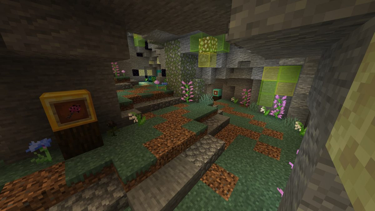 Map Minecraft Illemana Defense Jardin Souterrain